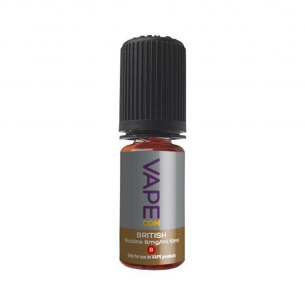 VAPEcom British E-liquid 10ml