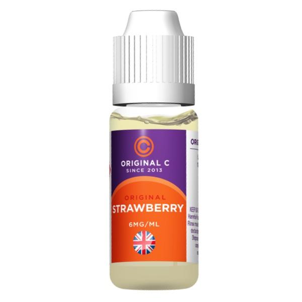 Original C Strawberry E-Liquid 10ml (Original Cirro Flavour)